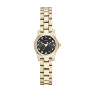 Marc by Marc Jacobs Marc By Marc Jacobs Henry Gold Tone Dinky watch