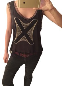 Jean-Paul Gaultier Designer Top Black