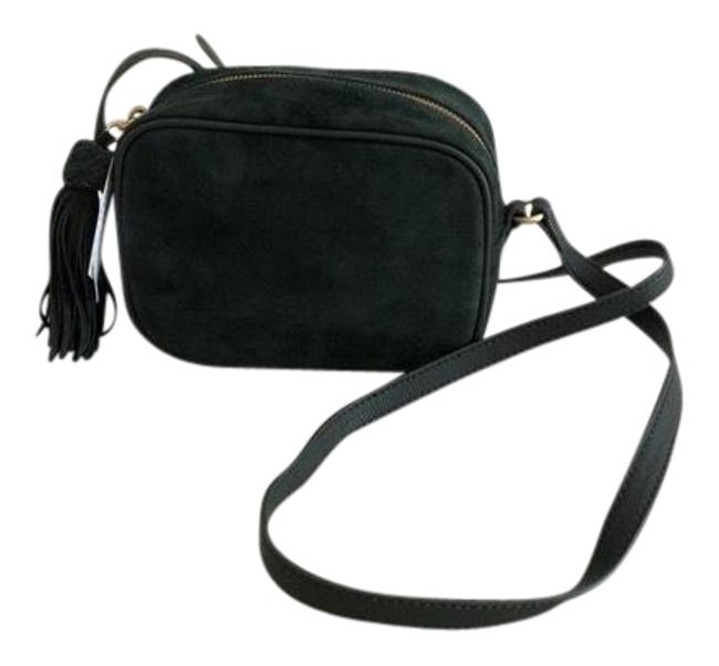 Item - Green Suede Leather Cross Body Bag