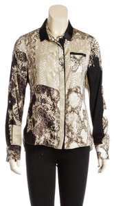 Elie Tahari Button Down Shirt Multi-Color