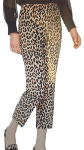 Kate Spade Capris Black and Taupe