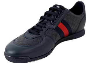 Preload https://item1.tradesy.com/images/gucci-blue-men-s-233334-leather-gg-trainers-sneakers-size-us-10-regular-m-b-22522415-0-0.jpg?width=440&height=440