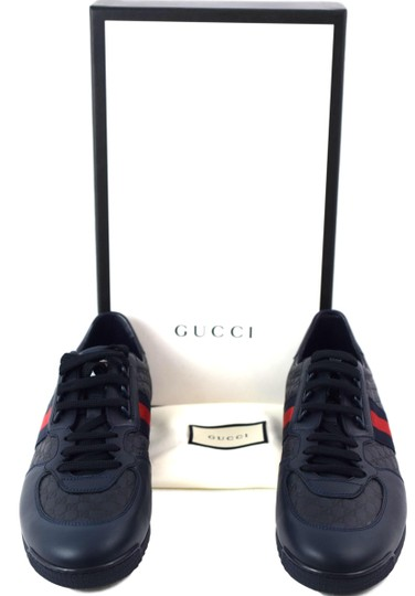 Gucci Sneakers Men's Blue Athletic