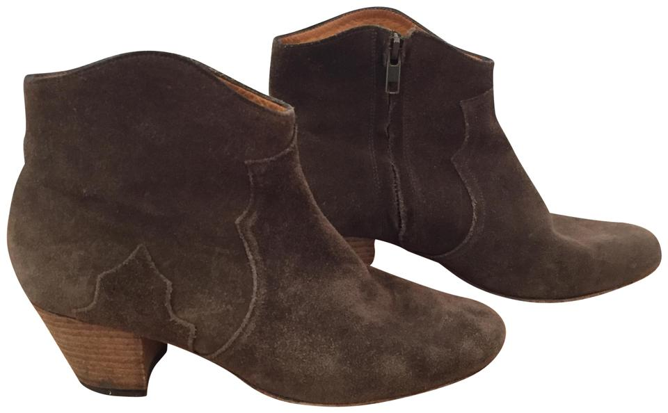 Isabel Marant Brown Etoile Boots/Booties Dicker Suede Ankle In Boots/Booties Etoile e5a738