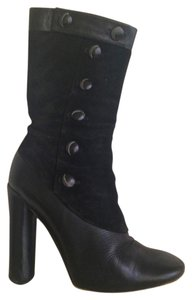 Marc Jacobs Boot Leather Black Boots