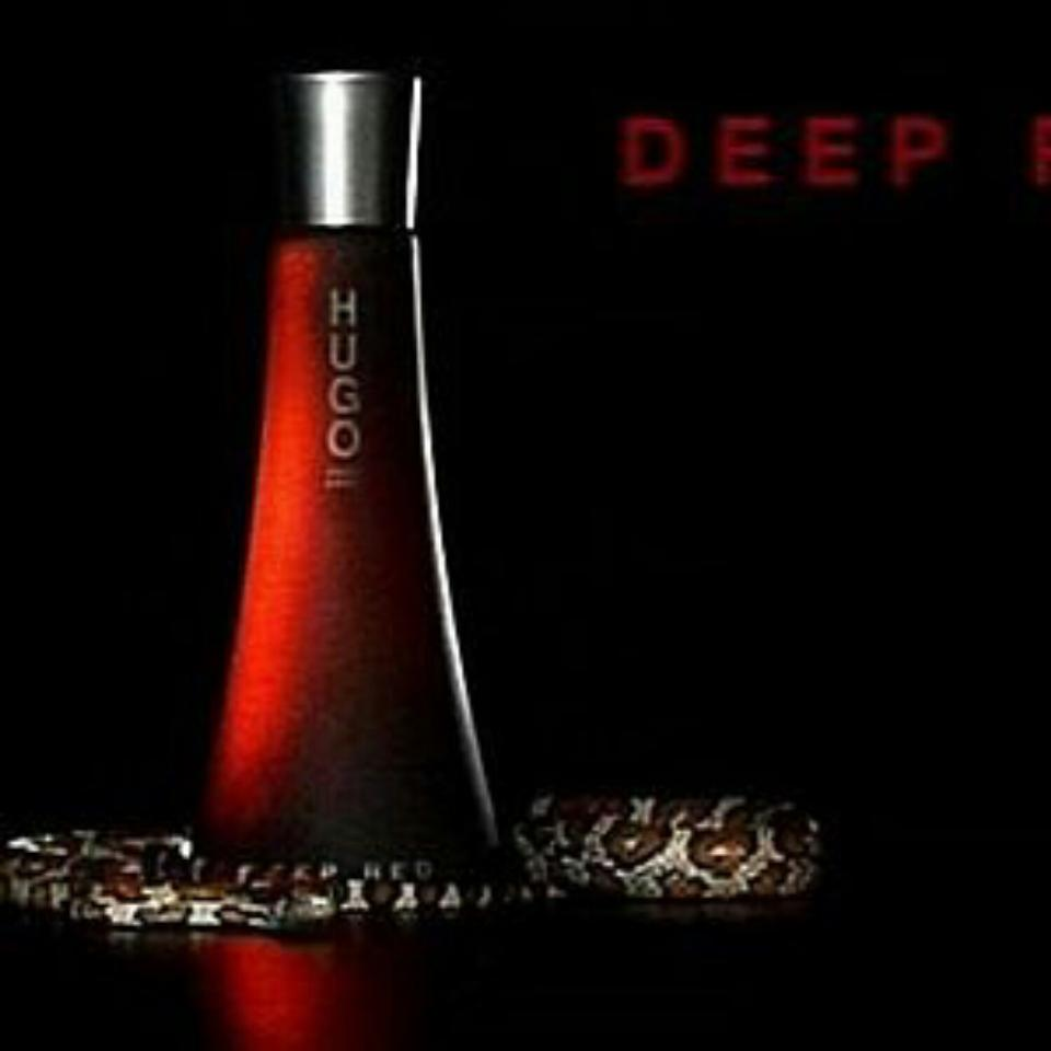 deep red by hugo boss for women edp 90 ml made in uk on. Black Bedroom Furniture Sets. Home Design Ideas