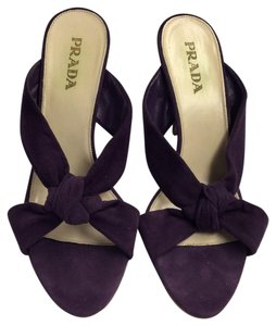 Prada purple Mules
