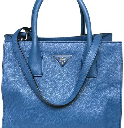 9dae86763f12 Prada Blue Leather Shoulder Bag | Stanford Center for Opportunity ...