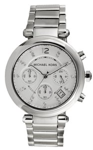 Michael Kors Michael Kors Silver Parker Glitz Watch