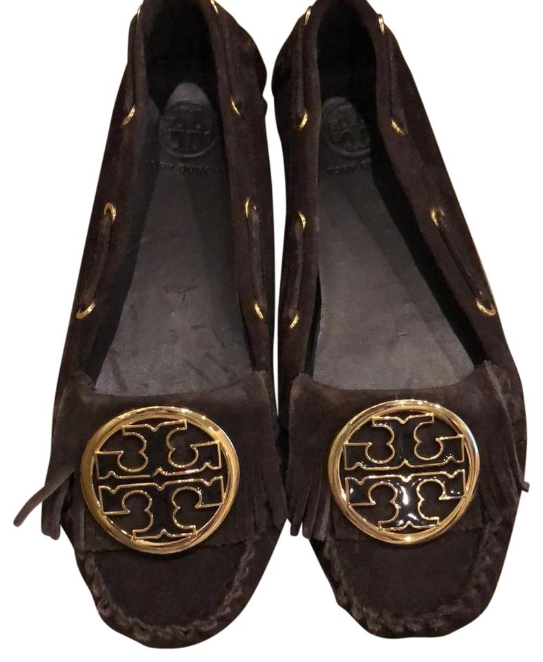 LADY New Tory Burch Brown Flats New LADY varieties are introduced fc8138