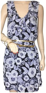 Juicy Couture short dress navy and white on Tradesy