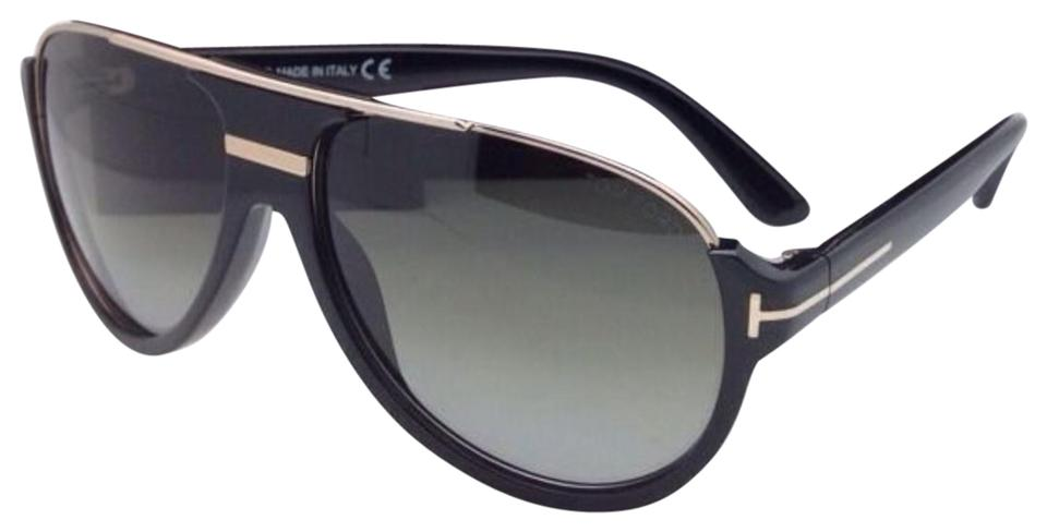 3cef83d4f Tom Ford New TOM FORD Sunglasses DIMITRY TF 334 01P 59-14 Black & Gold ...