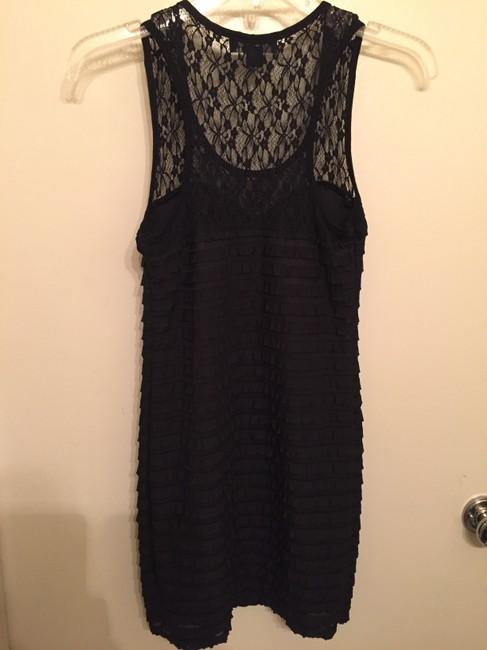 Forever 21 Lace Bodycon Lbd Sexy Fun Date Mini Dress
