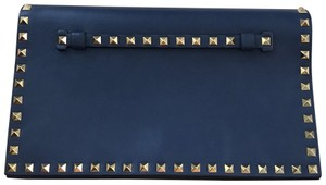 Valentino dark blue Clutch