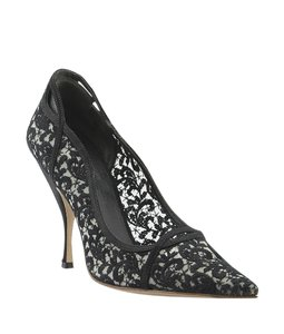 Miu Miu Fabric Black Pumps