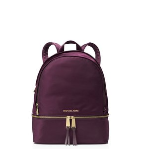 a0cf231d6645 Purple Leather Michael Kors Backpacks - Over 70% off at Tradesy