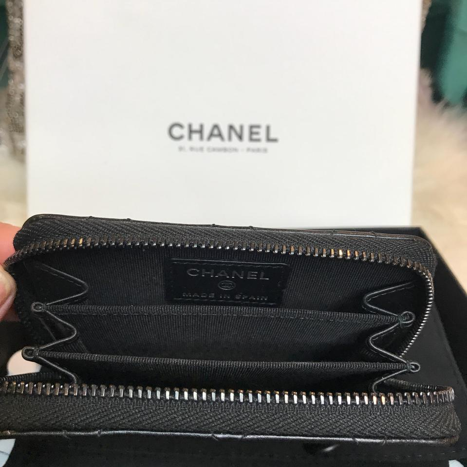 2ccfbae87344 Chanel Classic Coin Purse Black   Stanford Center for Opportunity ...
