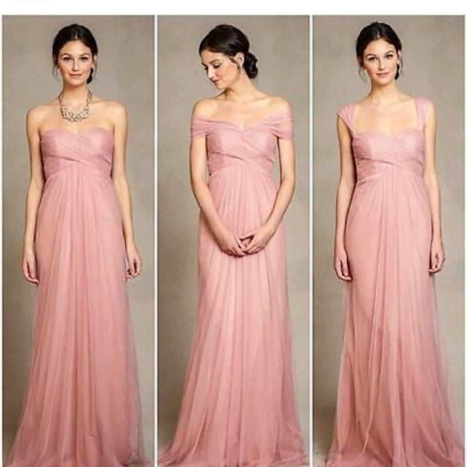 0d113d27d235d Jenny Yoo Begonia Pink Willow Tulle Gown Formal Bridesmaid/Mob Dress ...