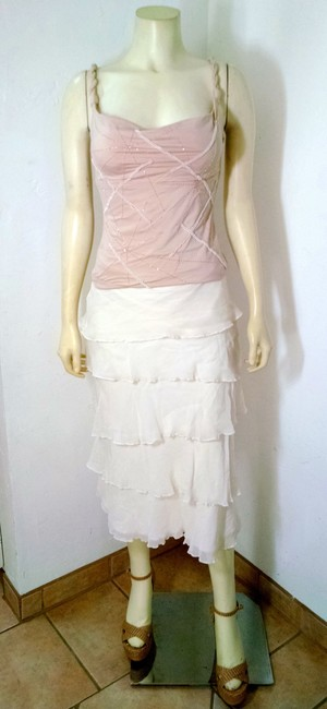 White House | Black Market Size 2 P1332 Maxi Skirt white