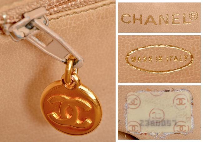 """Chanel 15.25"""" Inch Chevron Quilted with Gold Chains Pink Lambskin Leather Shoulder Bag Chanel 15.25"""" Inch Chevron Quilted with Gold Chains Pink Lambskin Leather Shoulder Bag Image 12"""