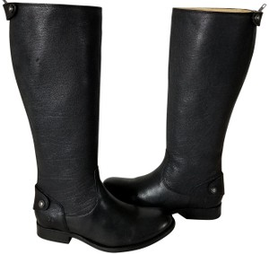 Frye Knee-high True To Size Button Zip Style No. 76430 Black Boots