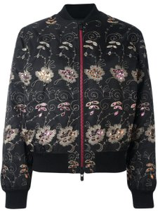 Givenchy Pink Gold Floral Embroidered Jacket