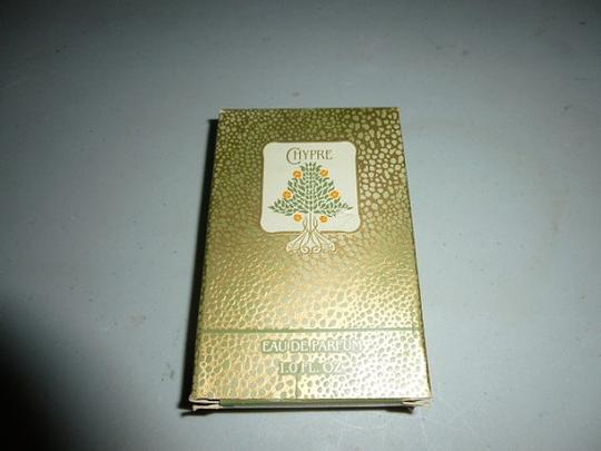 Chypre by Coty Vintage Chypre by Coty Eau De Parfum Perfume Fragrance 1 Ounce Vintage 1980s