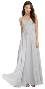 Light Grey Maxi Dress by Lulu*s Chiffon Maxi
