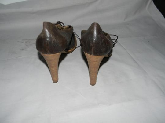 Paola Ferri Brown Boots Image 1