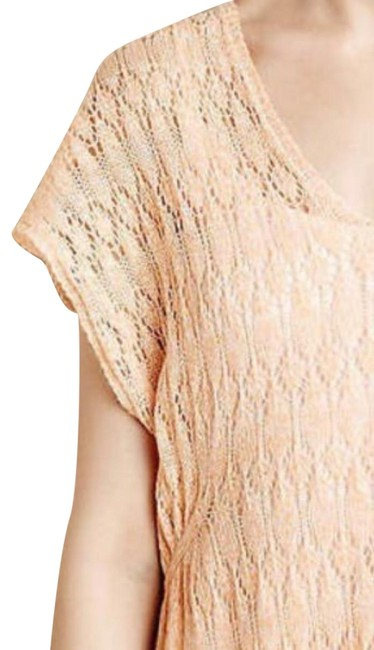 Anthropologie Moth Lacey Knit Linen Blend Sweater Image 3