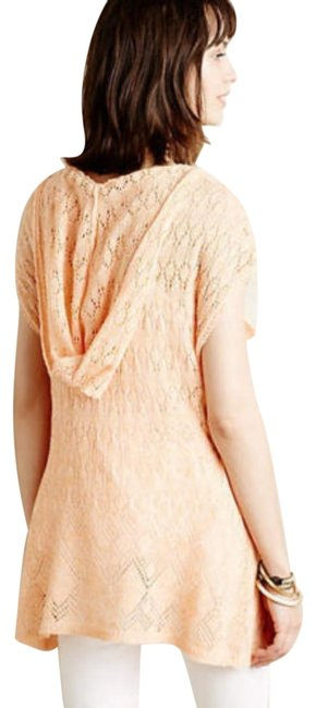 Anthropologie Moth Lacey Knit Linen Blend Sweater Image 4