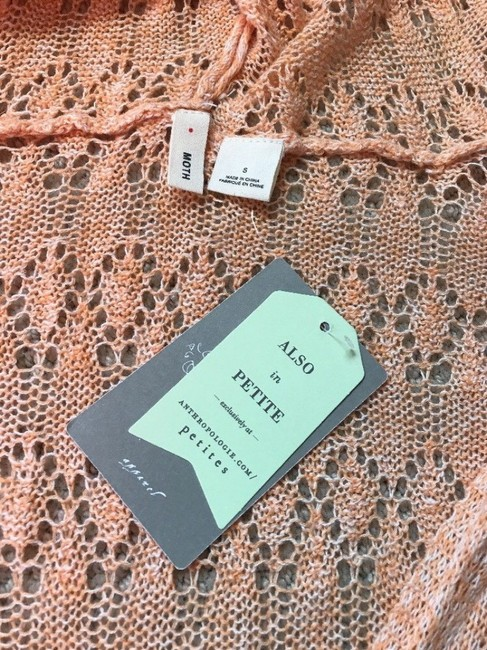 Anthropologie Moth Lacey Knit Linen Blend Sweater Image 5