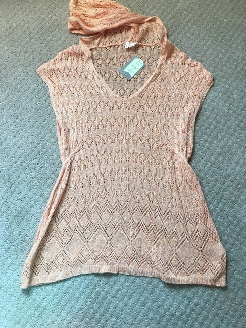 Anthropologie Moth Lacey Knit Linen Blend Sweater Image 6