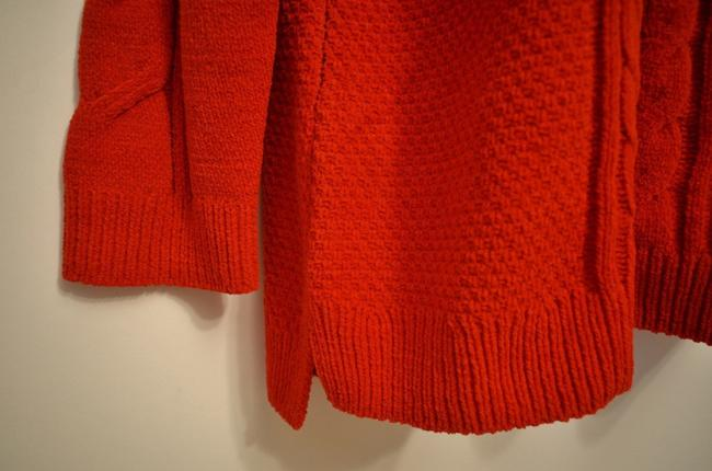 J. Jill Generous Fit Relaxed Fit Cable Knit Soft Chenille Sweater Image 2