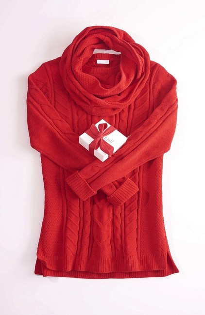 J. Jill Generous Fit Relaxed Fit Cable Knit Soft Chenille Sweater Image 7