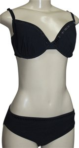 Gottex Gottex 2pc Bikini Lightly Padded Underwire Studded Swimsuit Studded SIZE MEDIUM Cup D