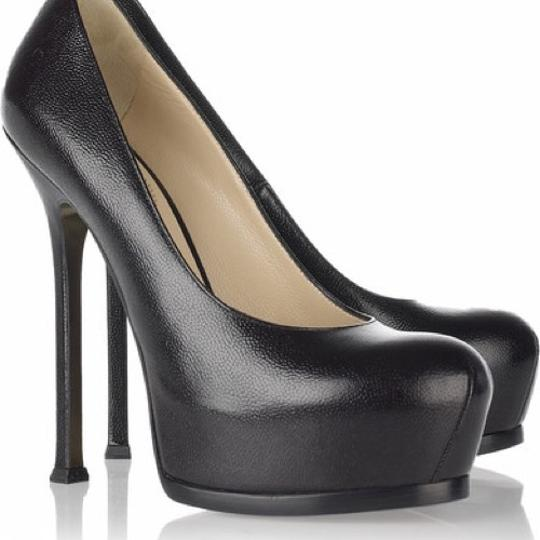 Saint Laurent black Platforms Image 1