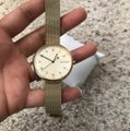 Skagen Denmark Brand New Signature Gold-Tone Steel-Mesh Watch SKW2625 Image 7