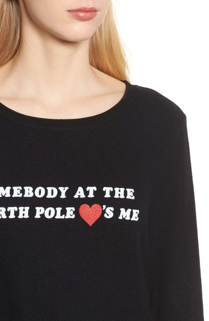 Wildfox Couture Love Sweetheart Baggy Beach Jumper Sweater Image 5
