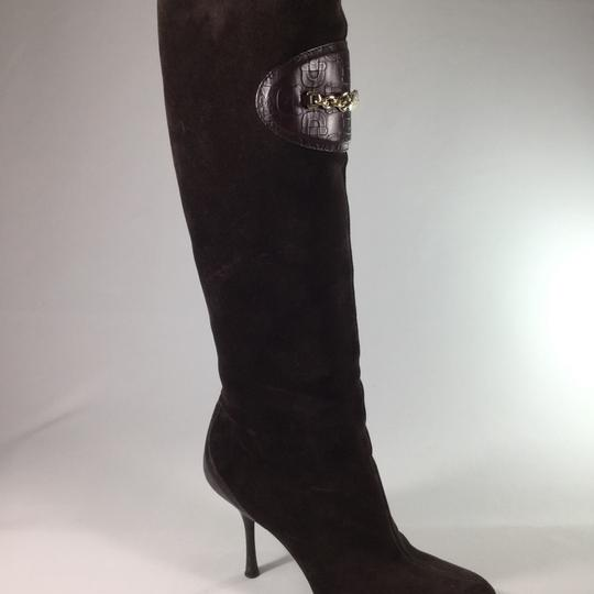Gucci Suede Suede brown Boots Image 2