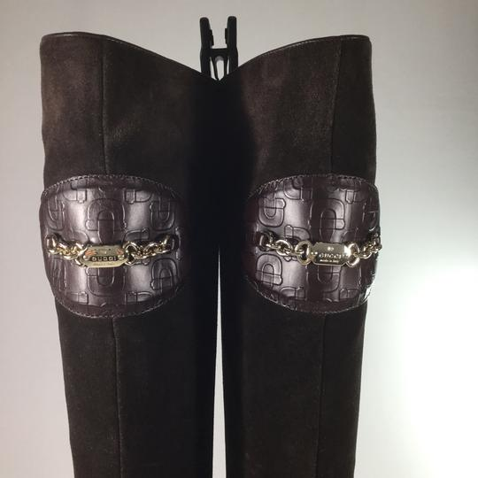 Gucci Suede Suede brown Boots Image 3