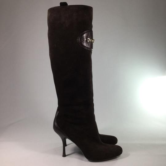 Gucci Suede Suede brown Boots Image 6