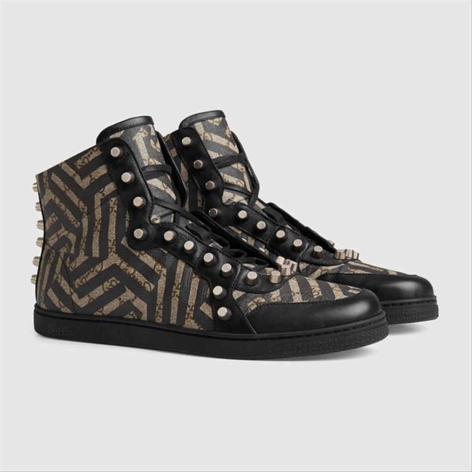 507ccbd631f Gucci - Gg Caleido High Top with Studs Men Sneaker Sneakers Size US ...