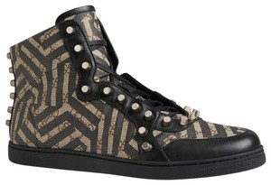0bf033aaabe Gucci - Gg Caleido High Top with Studs Men Sneaker Sneakers