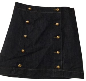 Michael Kors Mini Skirt dark denim