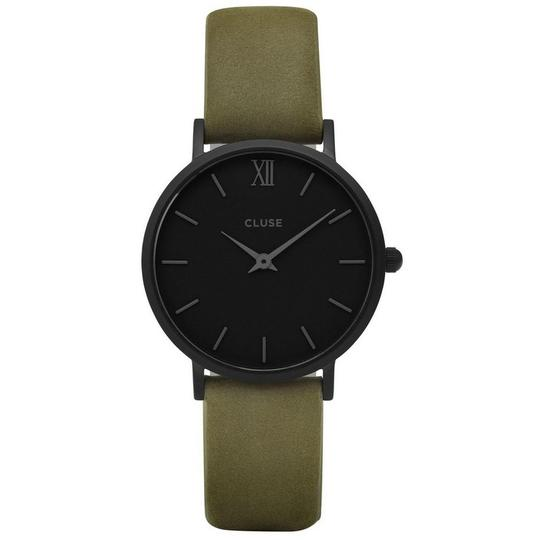Preload https://img-static.tradesy.com/item/22529028/cluse-green-cl30007-minuit-women-s-leather-band-with-black-analog-dial-watch-0-0-540-540.jpg