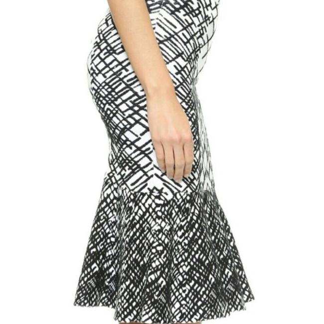 BCBGMAXAZRIA Skirt Black and White Image 3