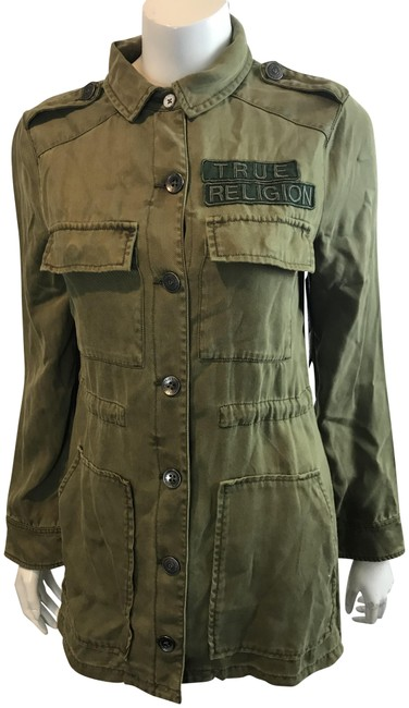 Item - Olive 811117 Military Parka S/P Jacket Size 4 (S)