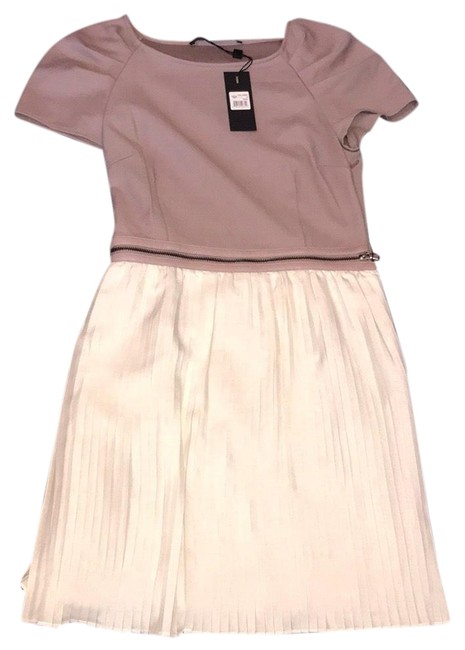 Preload https://img-static.tradesy.com/item/22529127/mackage-taupe-and-cream-twirl-short-casual-dress-size-6-s-0-3-650-650.jpg