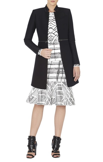 BCBGMAXAZRIA Skirt Black and White Image 2